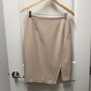 White House Black Market - beige skirt - size 2